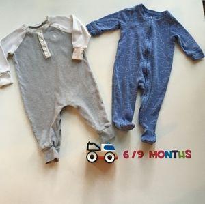 Ralph Lauren & GAP Pyjamas lot Baby Boy 6-9m